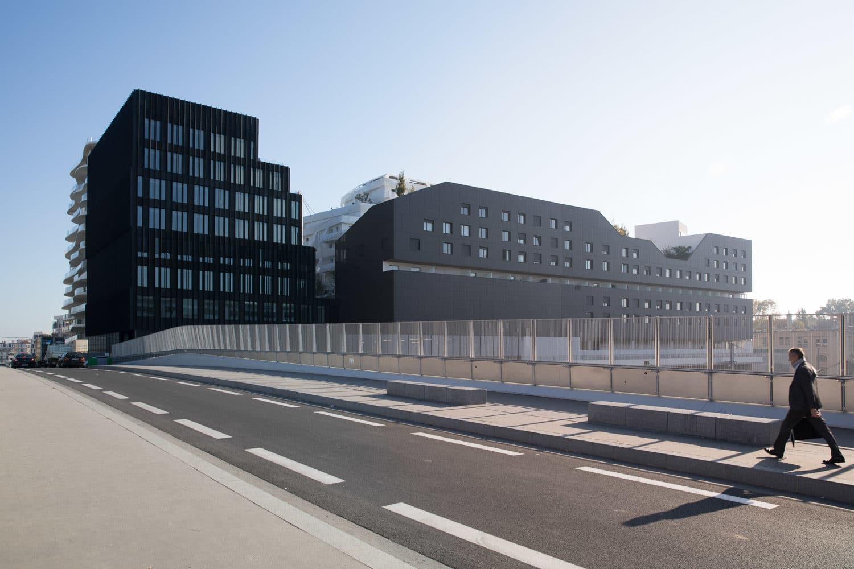 Projet de logement Immeuble à Paris Batignolles