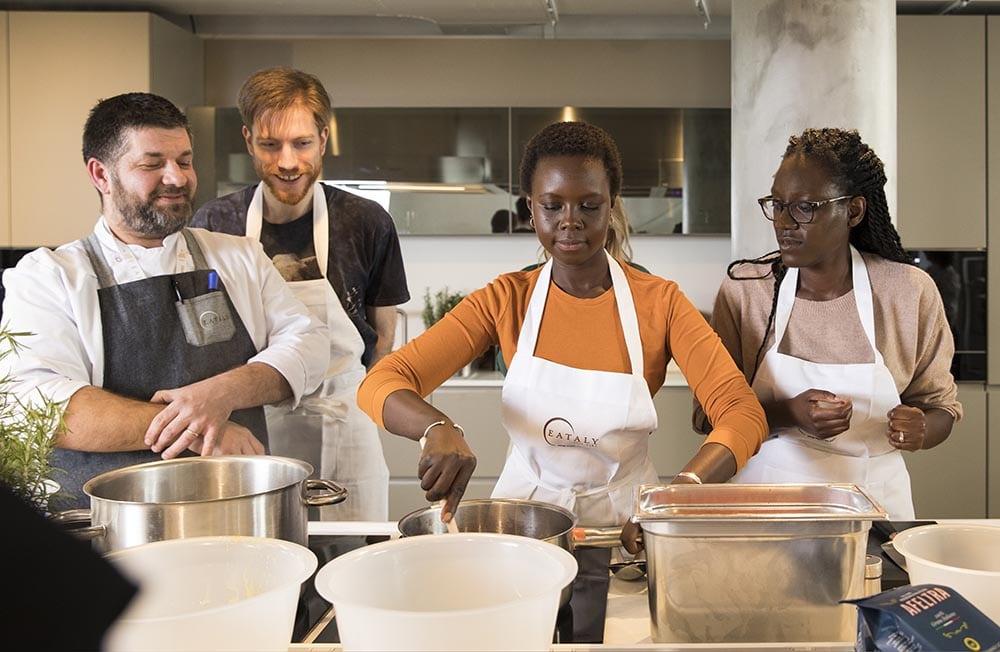 Cours de cuisine à la Scuola de Eataly Marais à Paris