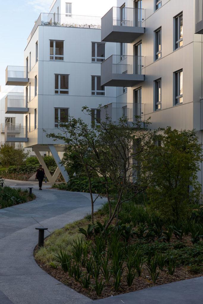 Immeuble de logement Lin Architectes à Boulogne Quartier Point du Jour