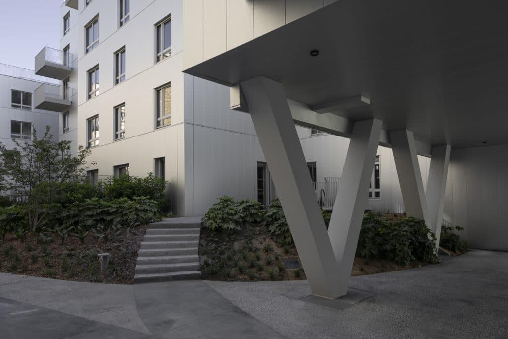 Immeuble de Logement dessiné par l'agence LIN architecture